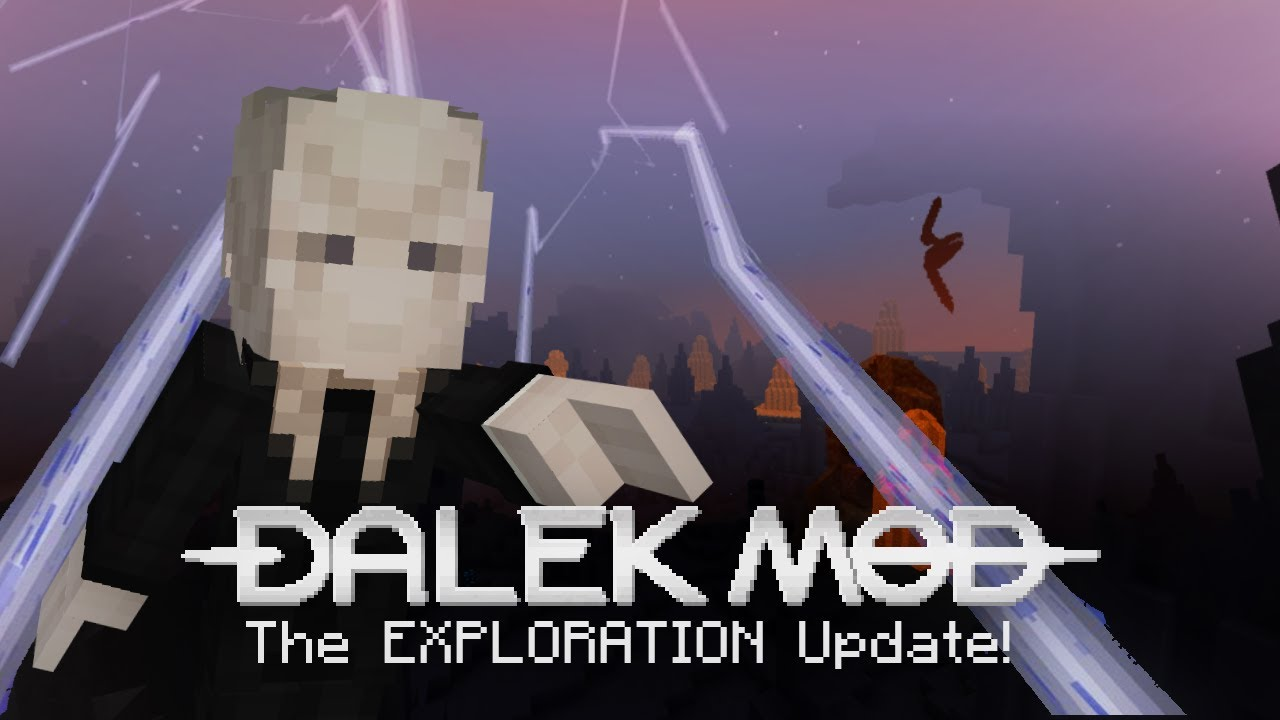 Doctor Who The 9th10th Doctors Tardis Roblox The Dalek Mod Mods Minecraft Curseforge