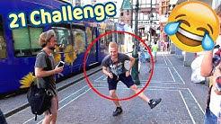 21 CHALLENGE AUF DER STRAßE!! 🤣 (Spiel 21)