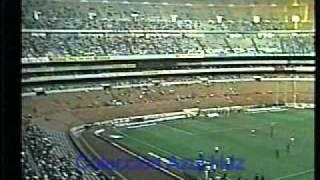 Cruz Azul 6 - Pumas 3. Temporada 77-78