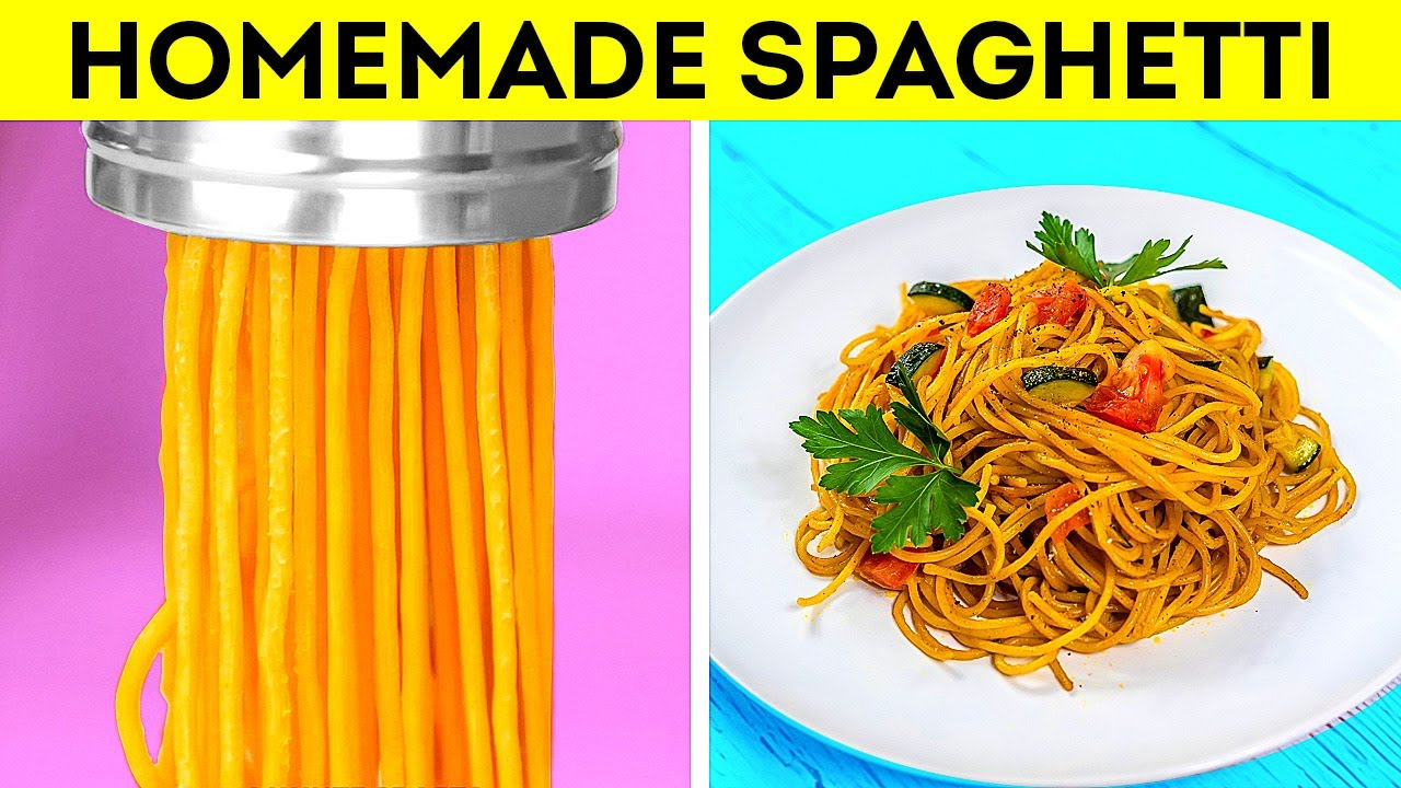 40 Kitchen Hacks to Cook Like In a Restaurant    Homemade Spaghetti Recipe You'll Love!