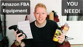 Amazon FBA Equipment YOU NEED for Reselling and Retail Arbitrage - UK Reseller - Make Money Online