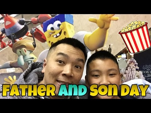 Father and Son Day: SpongeBob is Awesome!!!
