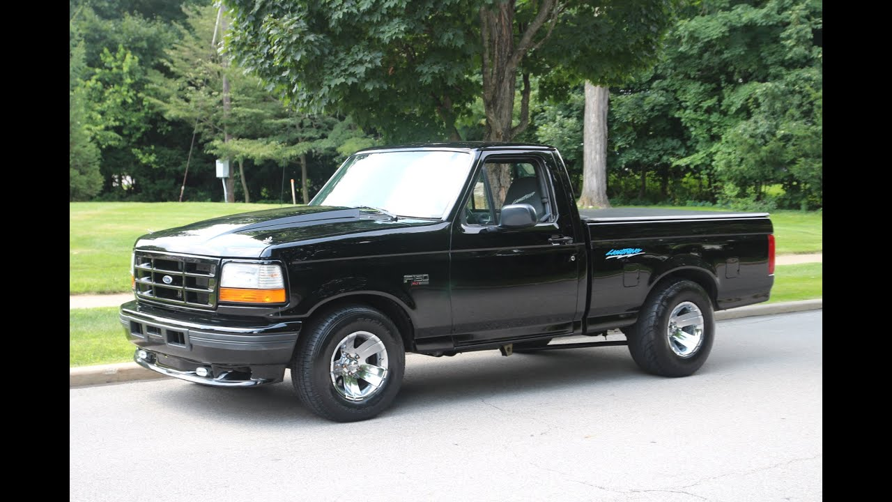 F 150 Cobra >> 1995 Ford F 150 Lightning Only 16,000 Original Miles - YouTube