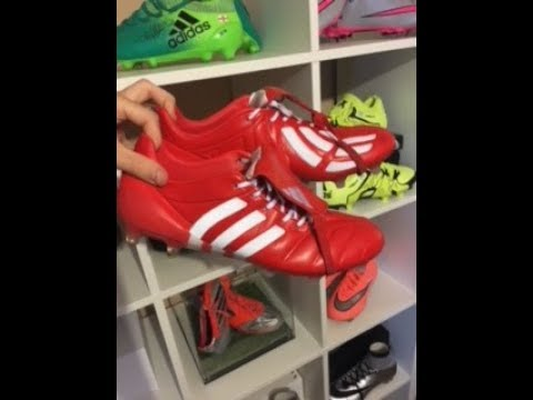 003c97ab6324 FAKE ADIDAS FOOTBALL BOOTS REVIEW!! Red Adidas Predator Mania Firm Ground