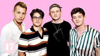The Vamps stopped by 17 HQ to spill all their favorite things. ♥ Su...