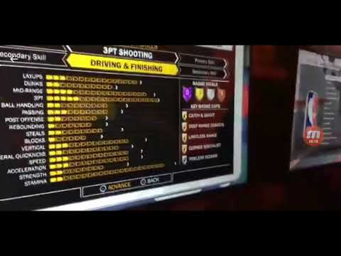 NBA 2K18 ALL ARCHETYPE COMBINATIONS AND BADGES YOU GET FOR EACH ONE!!! 1