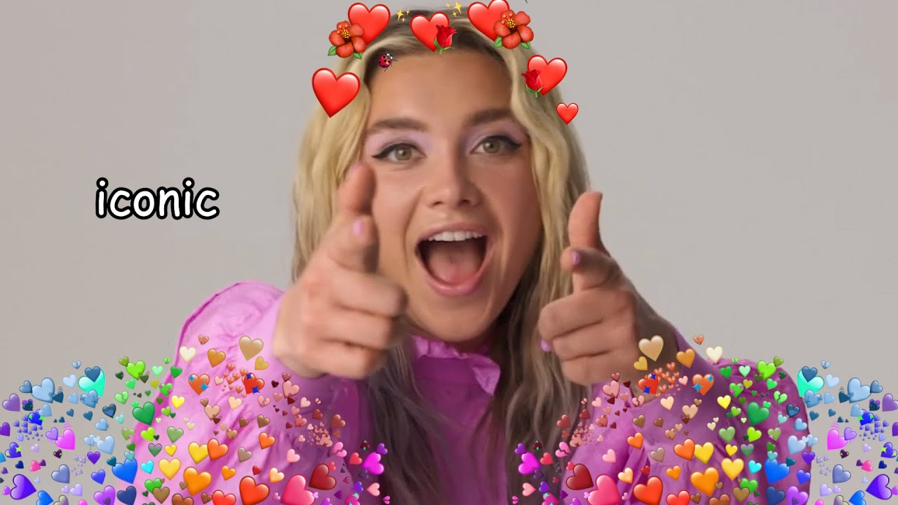 Florence Pugh being a queen for almost 8 minutes