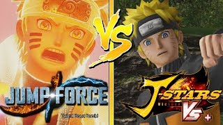 JUMP FORCE: Naruto Uzumaki's New Moveset Then and Now (J-Stars Comparison)