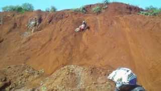 Trilha no Morro do Urubu - versão 2013