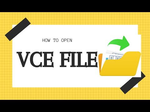 How To Practice CISCO CCNA Exam With Visual Cert Exam For Free   How To Open .VCE File 100% Working.