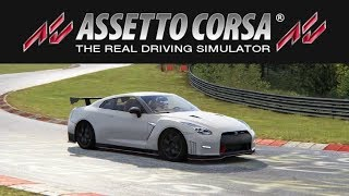 Sim Racing | Assetto Corsa | Nordschleife | Nissan GTR NISMO - Practice / First time / Slow!