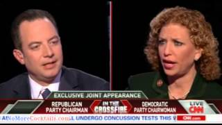 EPIC: Reince Priebus & Blabbermouth-Schultz go head to head in shouting match on Crossfire Part 2