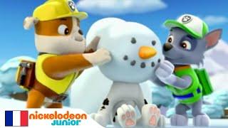 Paw Patrol : La Pat' Patrouille | Le bonhomme de neige | NICKELODEON JUNIOR