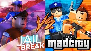 Roblox Jailbreak Vs Mad City:Buzzard Vs Blackhawk