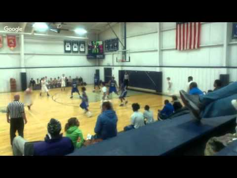 Indianapolis Met B Ball Game vs Greenwood Christian Academy 11-24-15