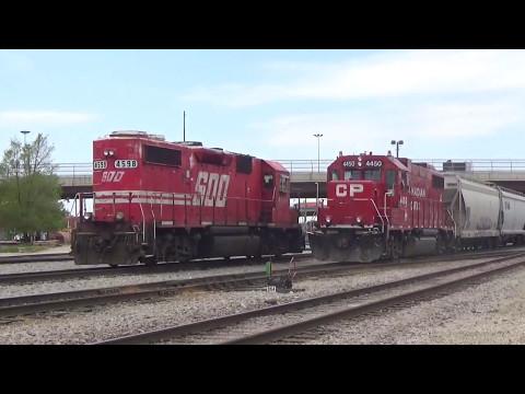 Railfanning around CP's Bensenville Yard with SOO 4598! 5/13/17