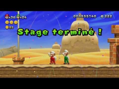 Let's Play New Super Mario Bros. U Partie 3 - Les terres de Miël
