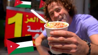Probando comida callejera árabe en JORDANIA 🇯🇴🧆🌯