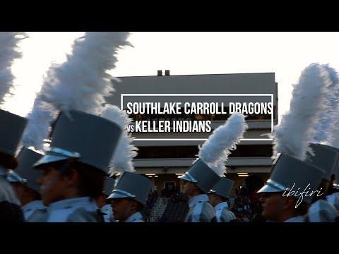 Southlake Carroll Dragons vs Keller Indians | FOOTBALL HIGHLIGHTS