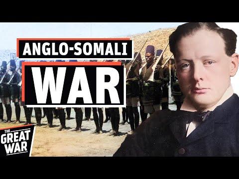 Anglo-Somali War 1921 - The Somali Dervish Movement