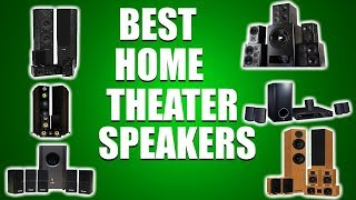 Top 9 Best Home Theater Speakers in 2018 you MUST Buy Today!
