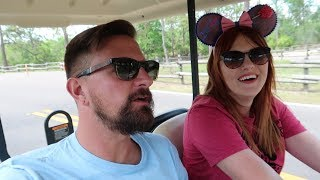 Walt Disney World Fort Wilderness Campground & Resort Tour | Golf Cart Tour, Pool & Food Locations