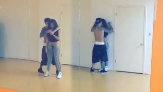 Repeat youtube video Justin Bieber Selena Gomez Sexy Dance Routine- Back Together!