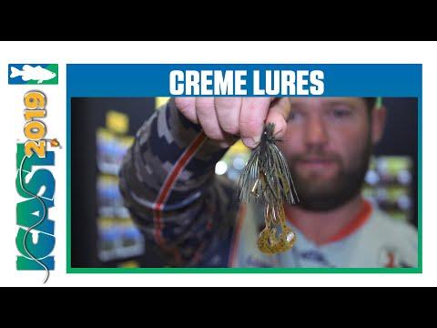 New Creme Lures Speed Scremer With Brett Pruett | ICast 2019
