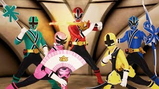 Colorful game - Power Rangers Super Samurai first morph missions part 2