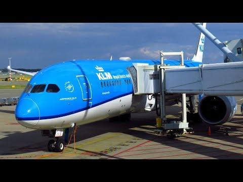 TRIP REPORT | KLM 787-9 Dreamliner | Amsterdam To Toronto | Economy Class