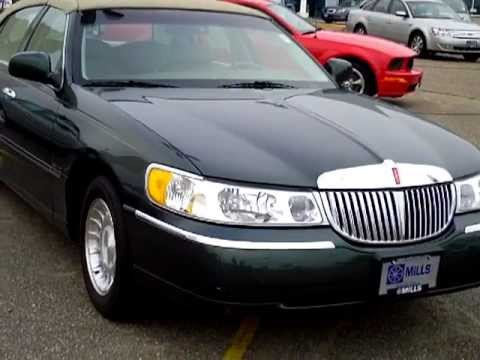 2000 lincoln town car executive youtube. Black Bedroom Furniture Sets. Home Design Ideas