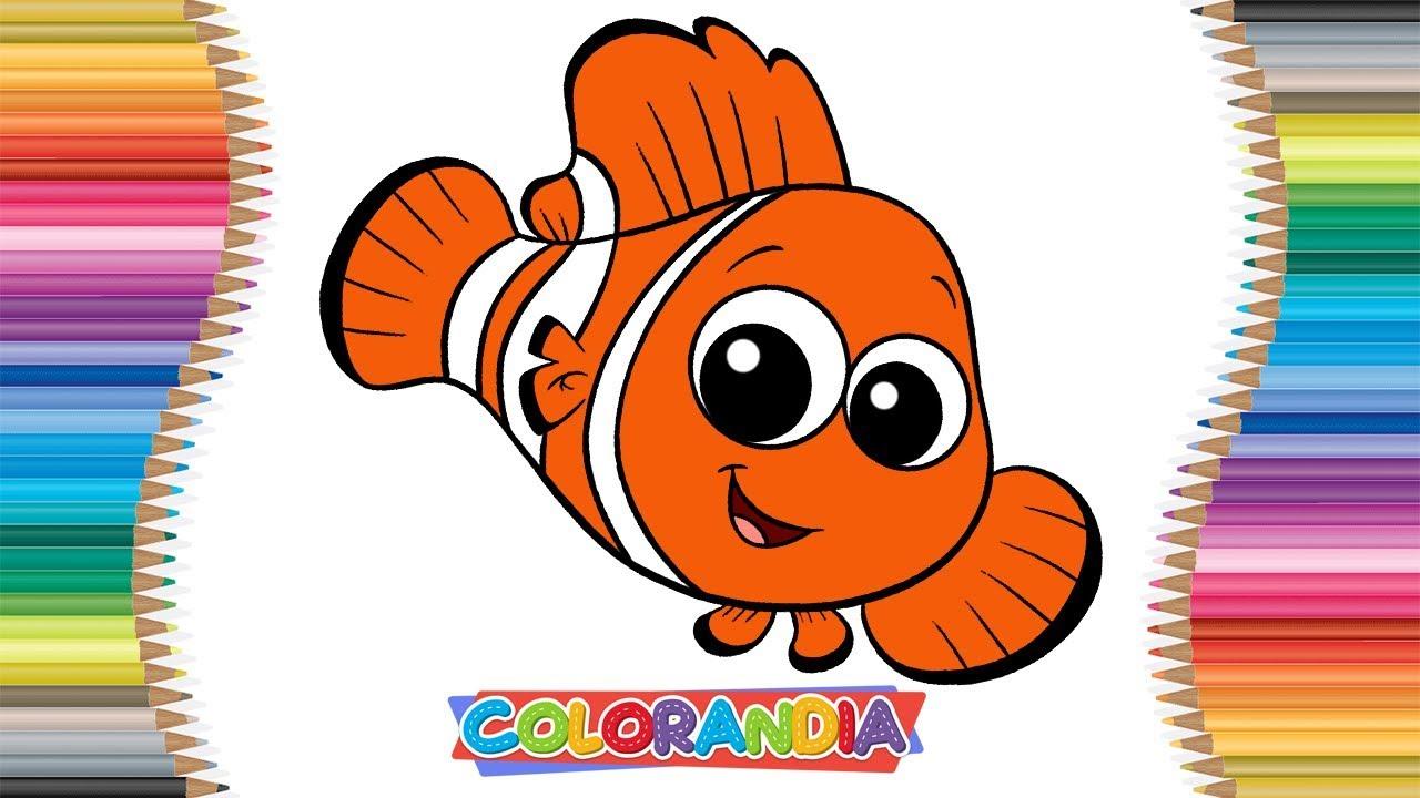 Nemo Peixinho Como Desenhar E Colorir Video Infantil Para Criancas