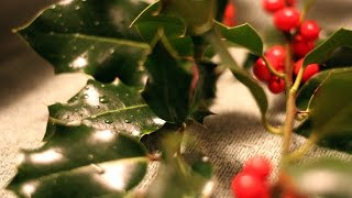 ASMR (Whispering) Creating an Advent Wreath
