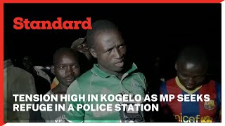 MP Atandi seeks refuge in a police station after allegedly assaulting the area chief in Kogelo