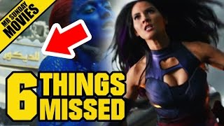 X MEN: APOCALYPSE Super Bowl TV Spot Easter Eggs, References & Things Missed