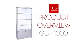 GB-1000 Glass Display Cabinet