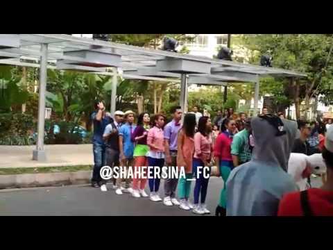 Shaheer Sheikh - Pesbukers closing Chicken dance