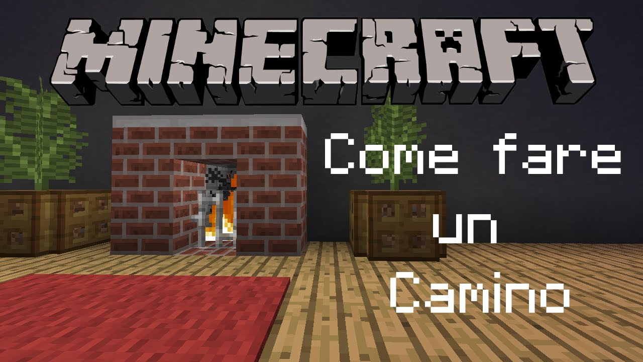 Come Fare Camino Su Minecraft Mincecraft Come Fare Un Camino
