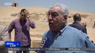 New discovery at Pyramids of Giza.
