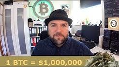 BTC Preisvorhersage - Bitcoin auf 1 Million Dollar ist konservativ