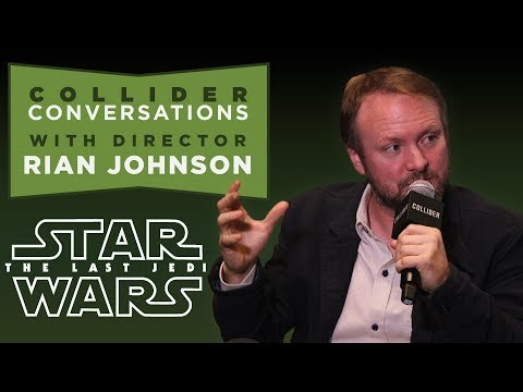 The Last Jedi: Rian Johnson Talks InDepth in Full Q&A  Collider Conversations