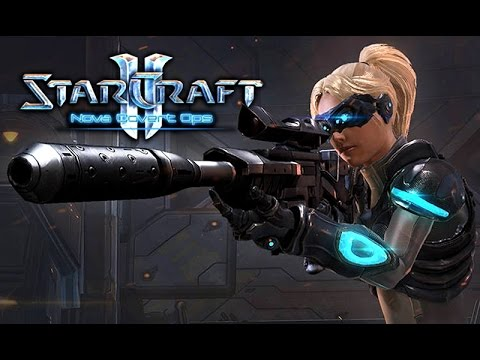 """Фильм """"Starcraft 2: Nova Covert Ops"""" (Нова: Незримая Война) (полный игрофильм) [60fps, 1080p]"""