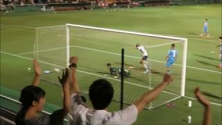 【FC東京U-18】U18日本代表・原大智選手が2ゴール 久保建英選手のシュートがGKに当たり、こぼれ玉をヘディング&ループシュートを決め、ロナウドポーズ 原大智 検索動画 13