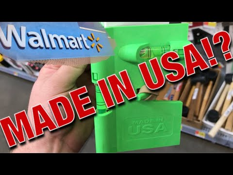 Walmart Tools Made In USA?!