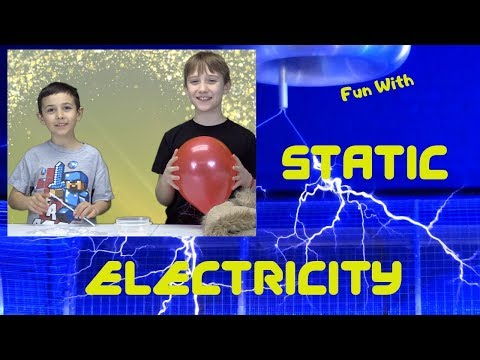 Static Electricity Easy & Fun Experiments!