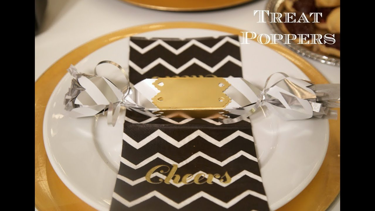 How To Throw A New Year\'s Eve Party - Treat Poppers | Sizzix DIY ...