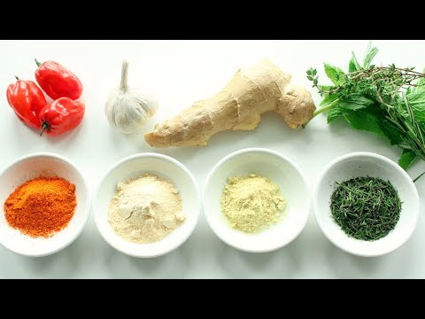 HOW TO MAKE POWDERED SPICES! Make Your Own Seasonings