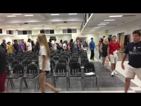 Oakleaf High School Class of 2K17 Graduation Rehearsal