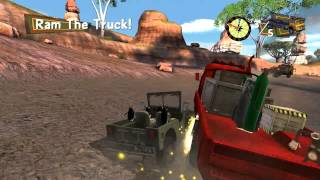 Madagascar 2 Escape Africa Walkthrough PC - Part 11 - Convoy Chase 2 (Collect 10 Monkeys) - HD