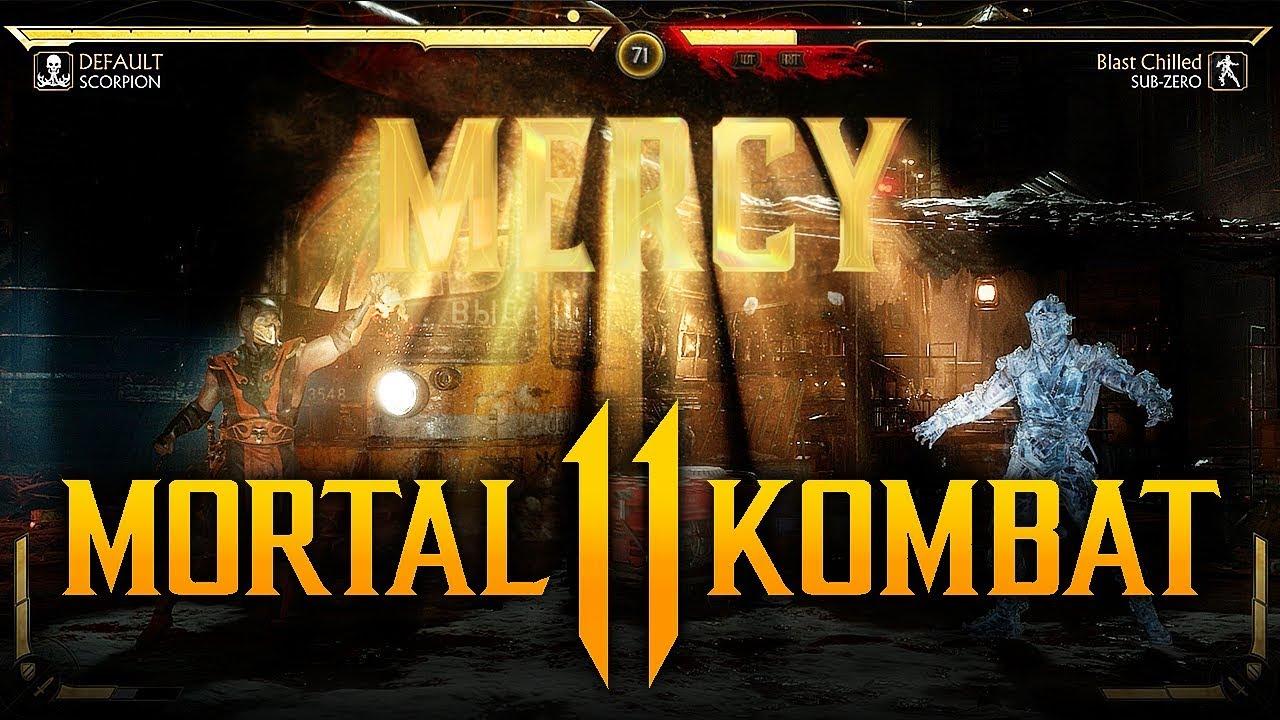 MORTAL KOMBAT 11 - How To Perform a Mercy! (Secret Finishing Move)